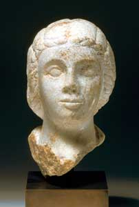 Roman Marble Bust of a Young Woman Possibly Empress Lucilla